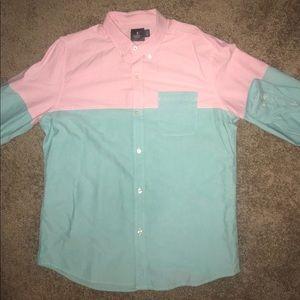 Hawkings McGill Buttoned Down Long Sleeve Shirt -L